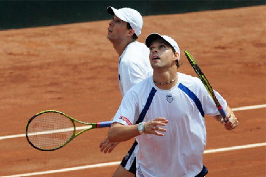 Le duo Bob et Mike Bryan jouera la... (Photo: AFP)