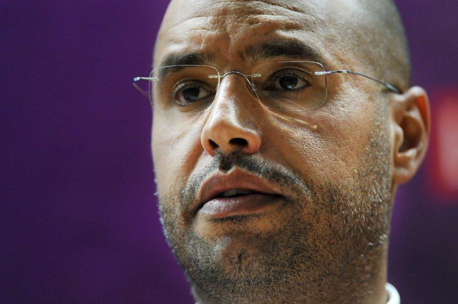 Saïf al-Islam, le fils du colonel Mouammar Kadhafi,... (Photo: archives AFP)
