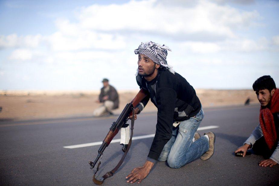 L'avancée des rebelles vers la ville de Ben... (Photo: New York Times)