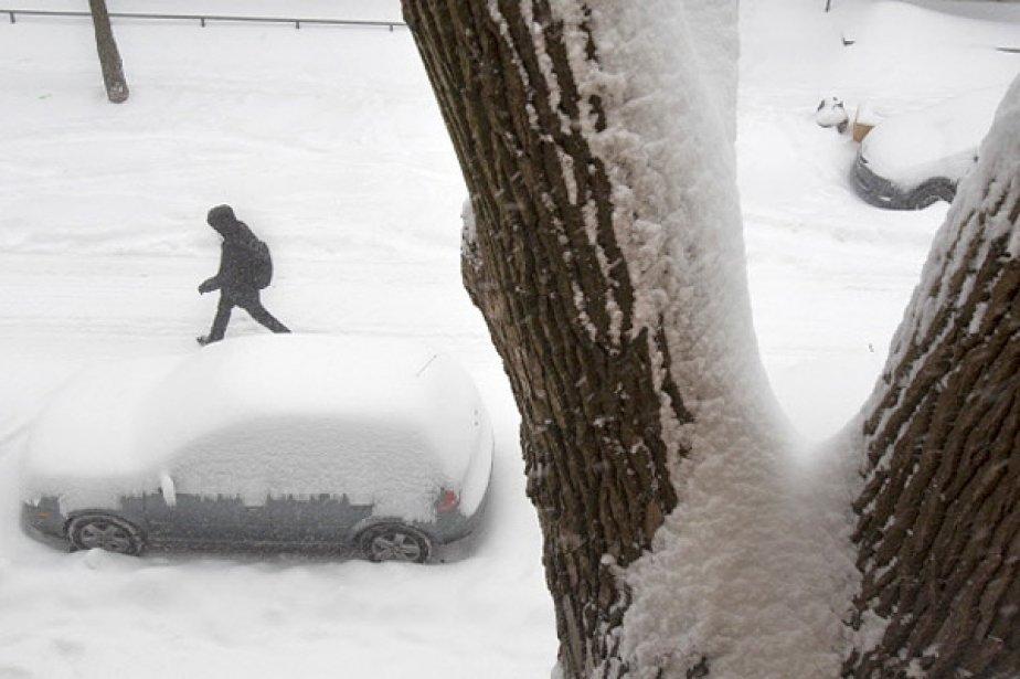 Une autre importante tempête météorologique... (Photo: Ivanoh Demers, La Presse)