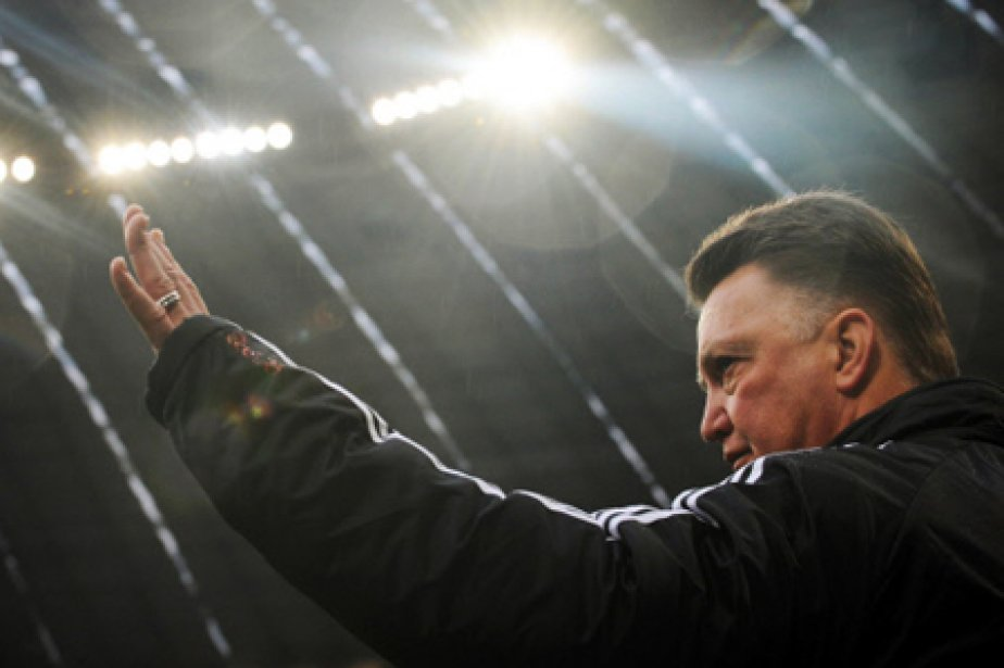 L'entraîneur du Bayern Munich, Louis van Gaal.... (Photo: AFP)