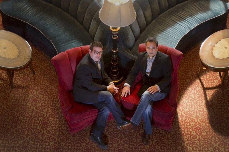 Jean-Yves Martineau et Éric Pham-dinh cherchaient un projet... (Photo Ivanoh Demers, La Presse)