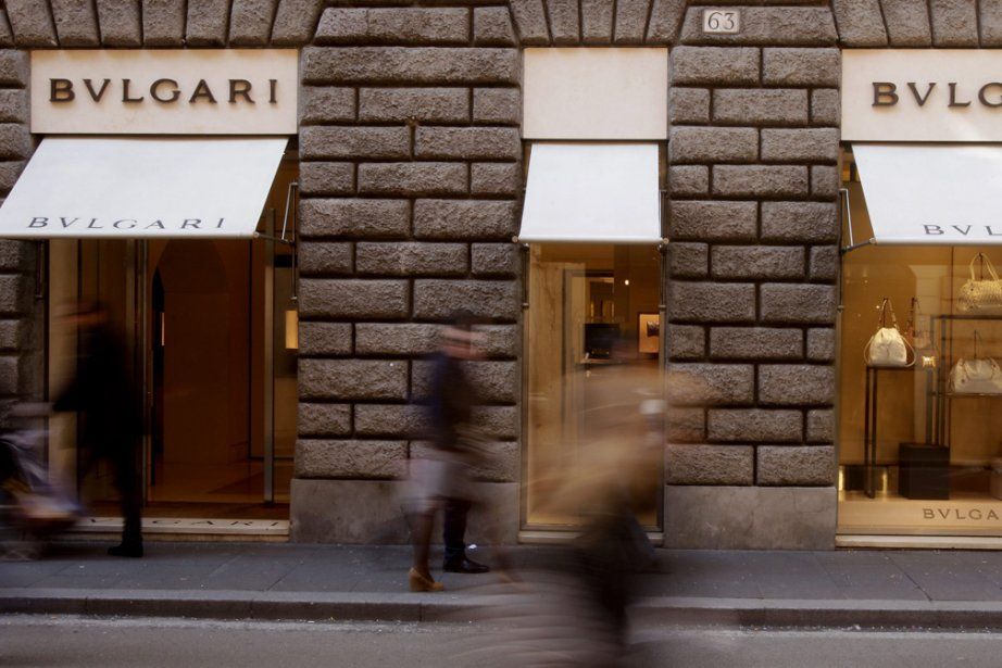 Un magasin Bulgari, à Rome... (Photo: AP)