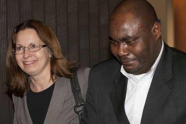L'ex-directeur informatique de Norbourg, Félicien Souka, ainsi que... (Photo André Pichette, La Presse)