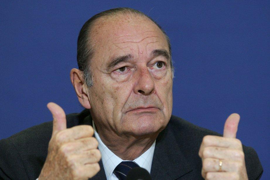 Jacques Chirac.... (Photo: archives AFP)