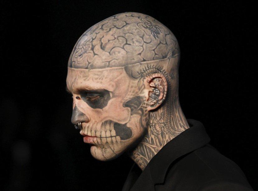 Zombie Boy... (PHOTO: FRANÇOIS GIOLLOT, AFP)