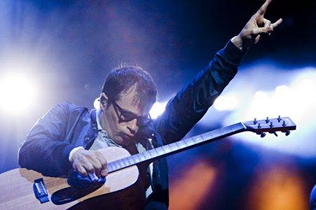 Le groupe Weezer... (Photo: François Roy, La Presse)