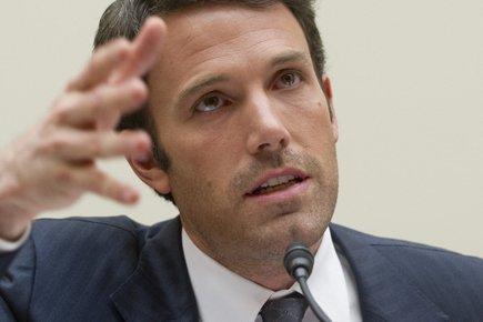 Ben Affleck est venu plaider au Congrès mardi... (Photo: AFP)