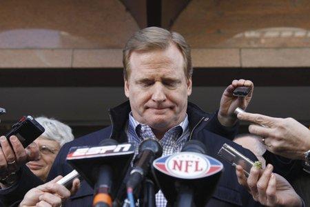 Le commissaire de la NFL, Roger Goodell.... (Photo: AP)