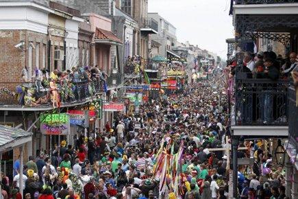 D'une manière générale, le Mardi gras 2011 aura... (Photo: AP)