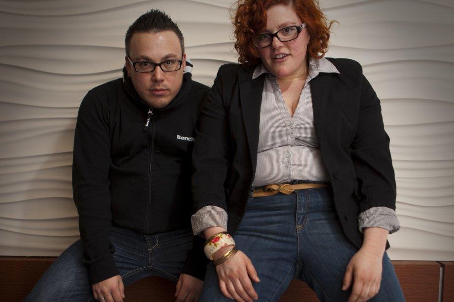 Pascale Desparois et Émilie Poirier, deux danseurs qui... (Photo: André Pichette, La Presse)