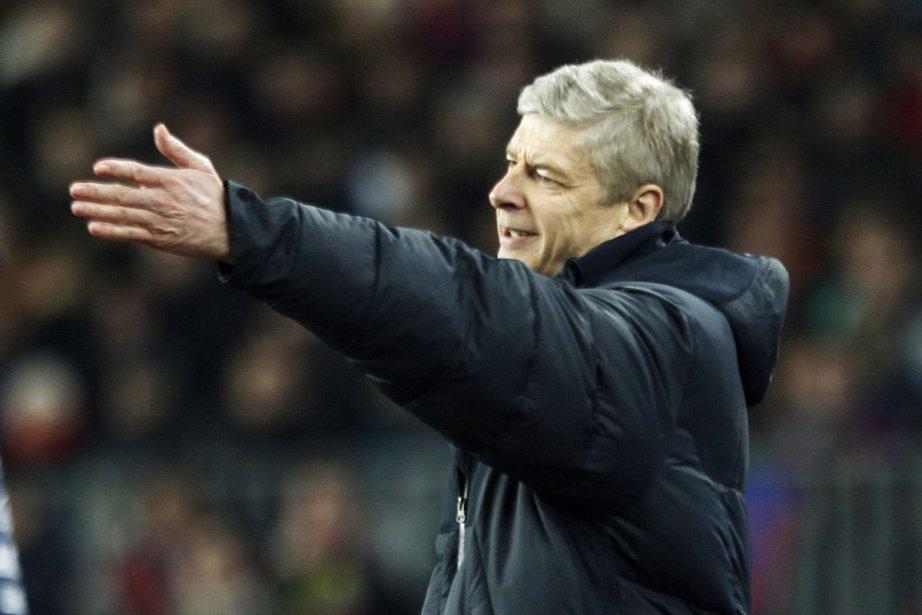 L'entraîneur d'Arsenal, Arsène Wenger... (Photo: Reuters)