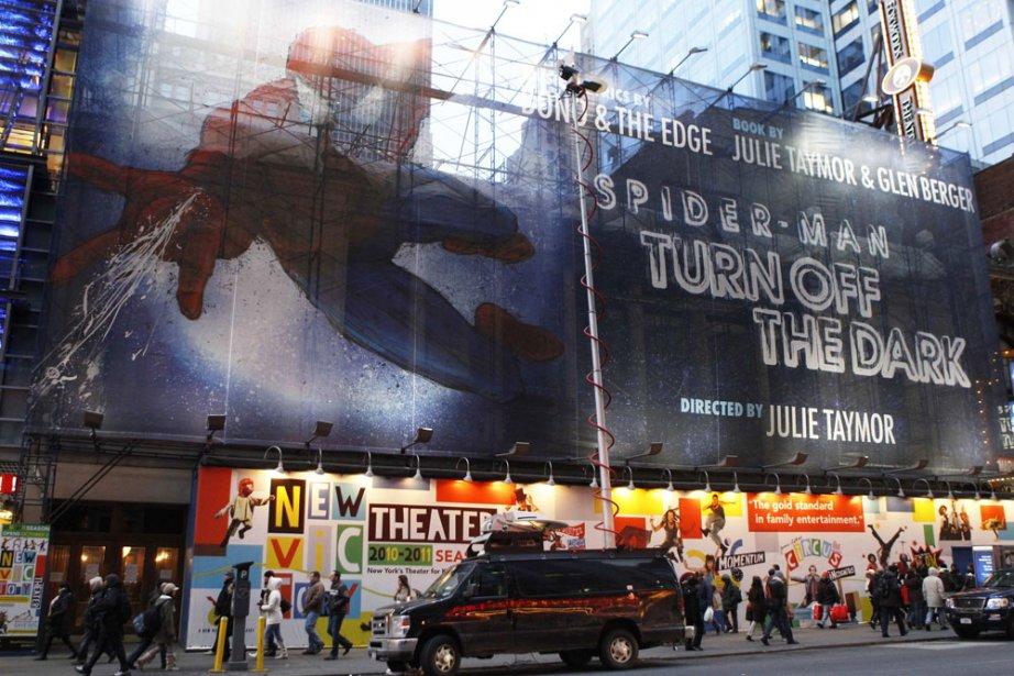 La comédie musicale Spider-Man, le spectacle le plus cher de... (Photo: Reuters)