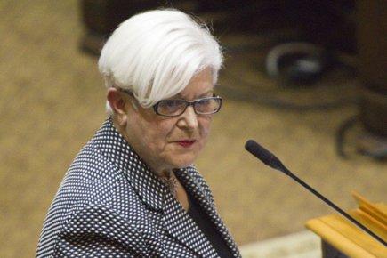 La chef de Vision Montréal,Louise Harel.... (Photo: André Pichette, La Presse)