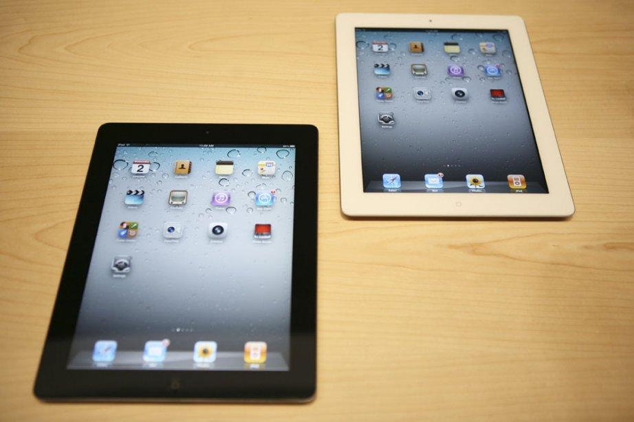 À la veille du lancement de l'iPad 2, les éditeurs de... (Photo: archives AFP)