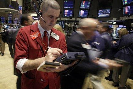 Parmi les 30 valeurs composant le Dow Jones,... (Photo: Richard Drew, AP)