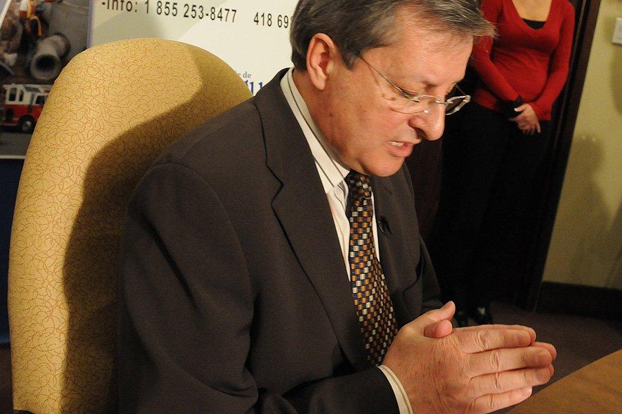 Le maire de Saguenay, Jean Tremblay, continue de... (Photo: Rocket Lavoie, Archives Le Quotidien)
