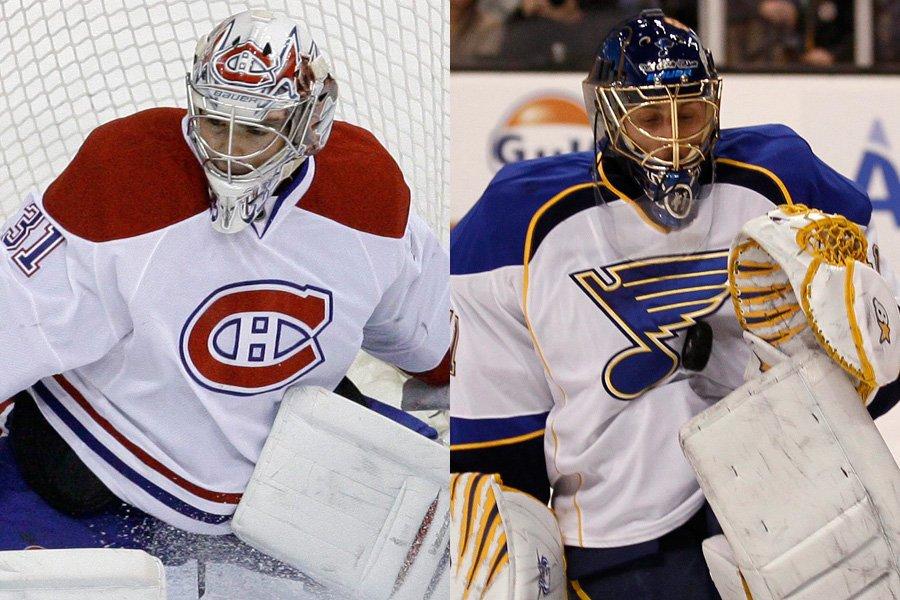 Carey Price et Jaroslav Halak... (Photos: AP)