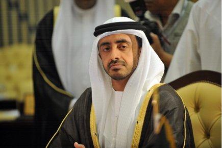 Le ministre des Affaires étrangères des Émirats arabes... (Photo: Fayez Nureldine, AFP)