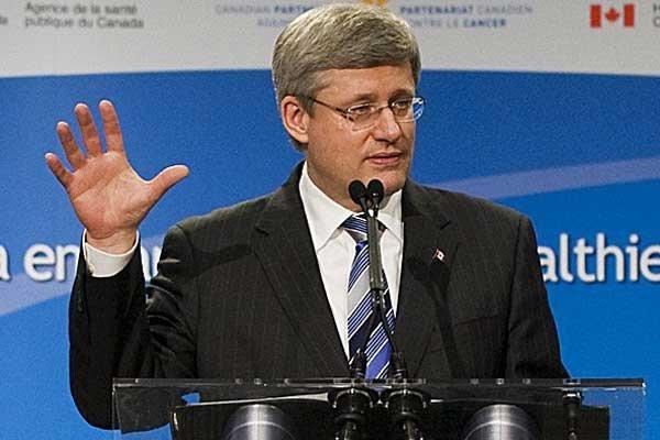 Stephen Harper... (Photo La Presse Canadienne)