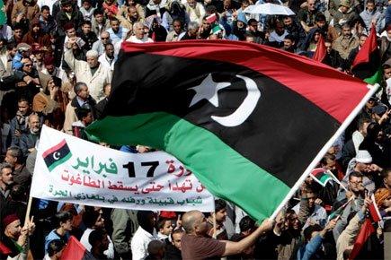 La Libye dans sa quatrième semaine de révolte... (Photo: AP)