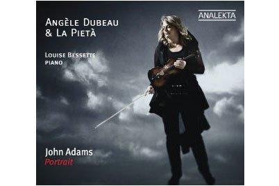 Pochette cd d'Angèle Dubeau...