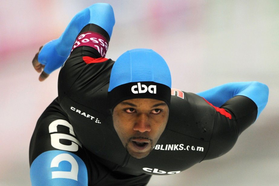 Shani Davis... (Photo: AFP)