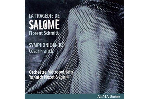 Pochette du disque La tragédie de Salomé....