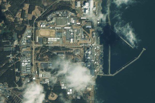 Une image satellitaire de la centrale nucléaire de... (Photo Reuters)