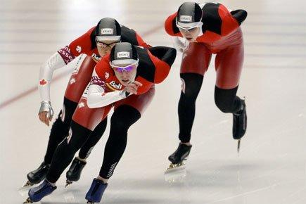 Avec leur chrono de deux minutes 59,74 secondes,... (Photo: Reuters)