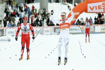 Le Suédois Emil Joensson a récolté l'or en... (Photo: Reuters)