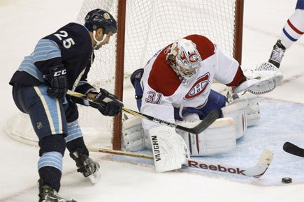 Sans les prestations de Carey Price, le Canadien... (Photo: Reuters)