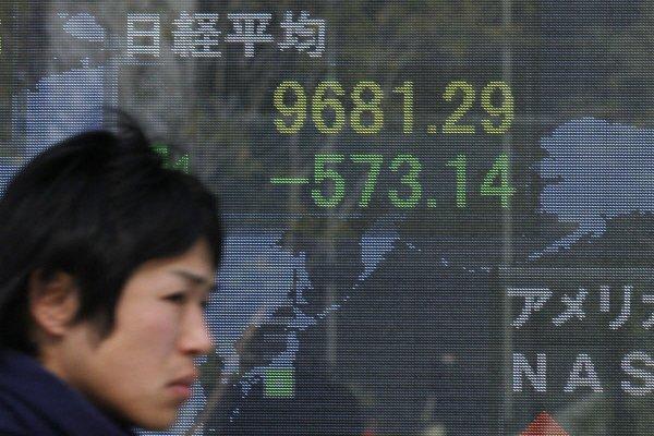 Le yen est monté en Asie lundi, les opérateurs s'attendant à ce que... (Photo AP)