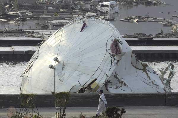 Désolation au Japon.... (Photo Associated Press)