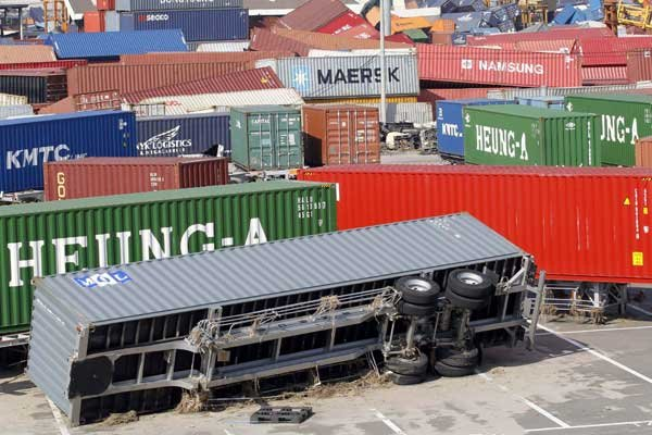 Le secteur du transport est particulièrement affecté.... (Photo Reuters)