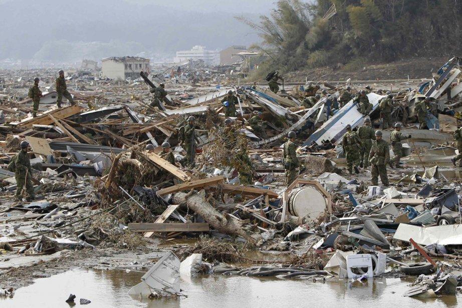 Dévastation à Rikuzentaka.... (Photo: Reuters)