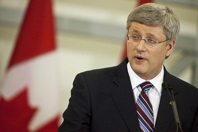 Stephen Harper, premier ministre du Canada.... (Photo: PC)