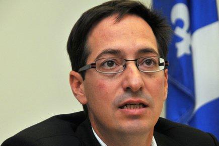 Le leader parlementaire du Parti Québécois, Stéphane Bédard.... (Photo: Le Quotidien)