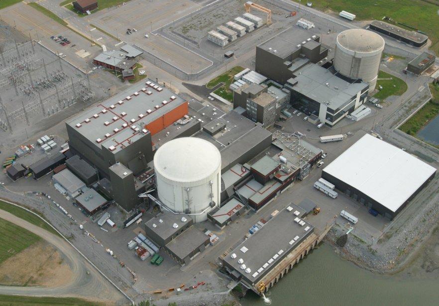 La centrale nucléaire Gentilly-2.... (Photo: La Presse)
