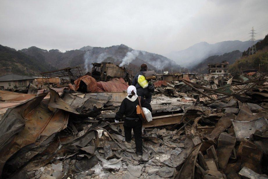Les survivants ont été retrouvés dans cette région... (Photo: Reuters)