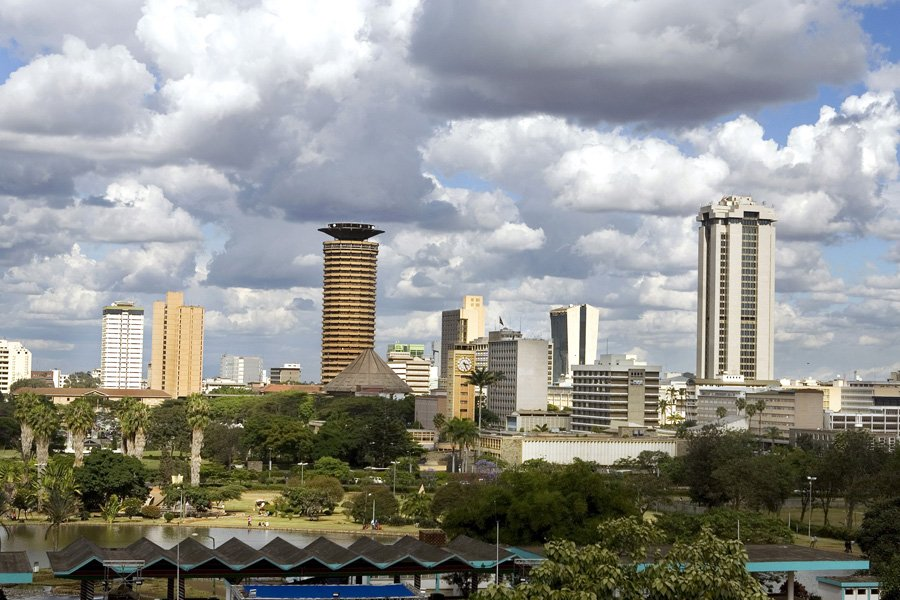 Nairobi, au Kenya... (Photo: Bloomberg News)