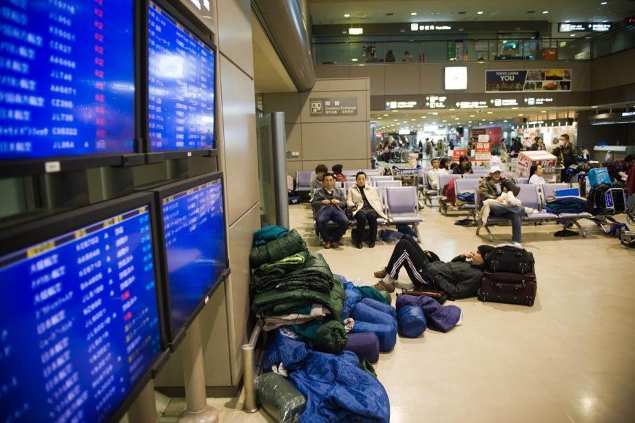 L'aéroport Narita de Tokyo... (Photo: AFP)