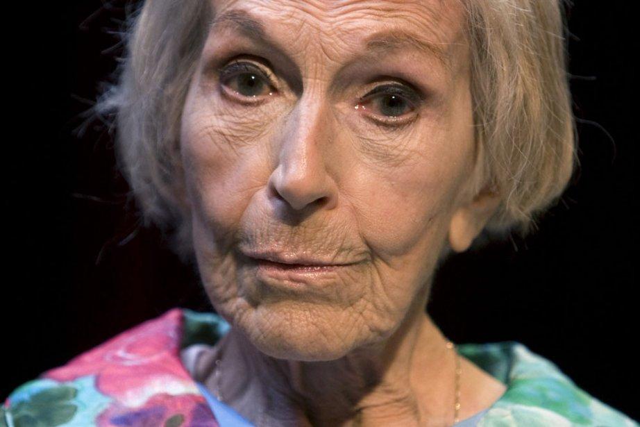 Janine Sutto incarne Olivine Dubuc dans Belles-Soeurs.... (Photo: Robert Skinner, archives La Presse)