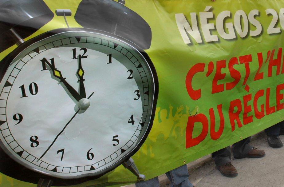 Les syndicats, dans le contexte économique actuel, agissent... (PHOTO: ARCHIVES LA PRESSE)