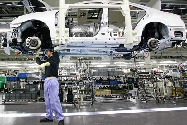 L'industrie automobile japonaise, la deuxième au monde,... (Photo Reuters)