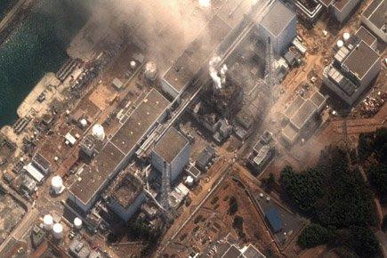 Un nouvel incendie s'est déclaré mercredi au réacteur 4 de la... (Photo: AP)