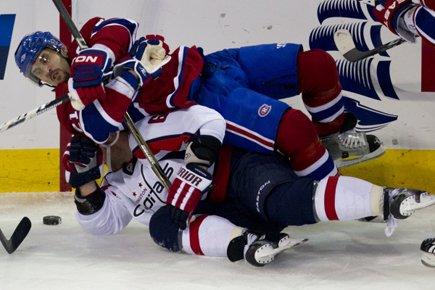 La meilleure équipe l'a emporté! Sans les... (Photo: André Pichette, La Presse)