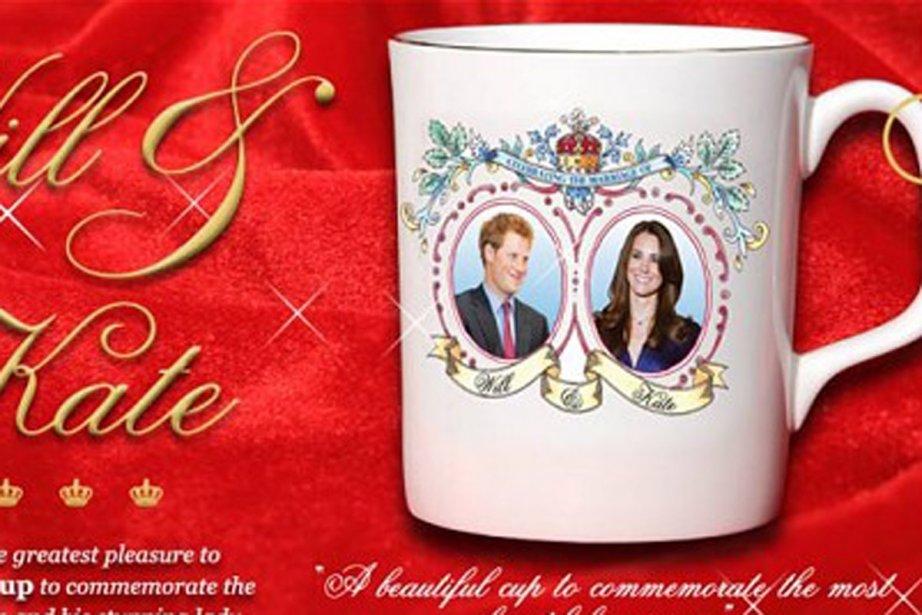 Les noms inscrits sur la tasse sont les... (Photo: Telegraph.co.uk)