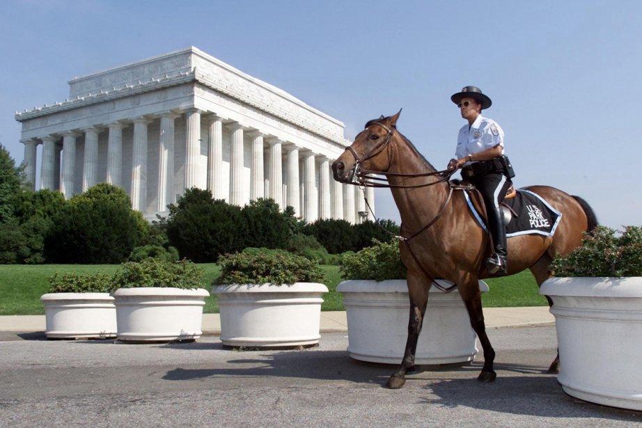 Le Lincoln Memorial, à Washington... (Photo: Archives Reuters)
