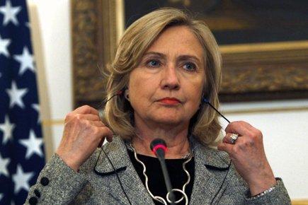 La secrétaire d'État américaine, Hillary Rodham Clinton, a... (Photo: Reuters)